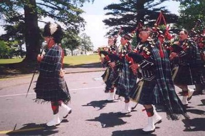Highland bagpiping
