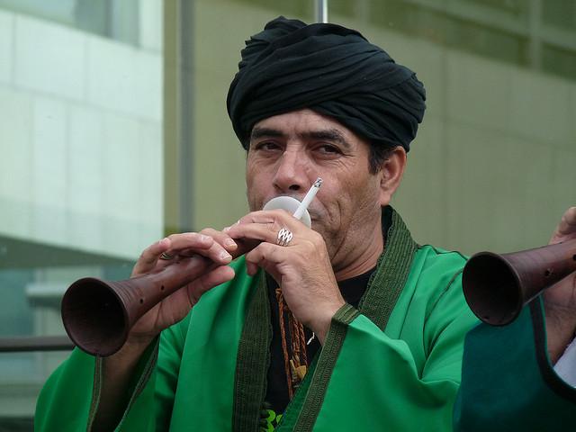 Bachir Attar - Master musician of Jajouka. Photo: Flickr / GanMed64.